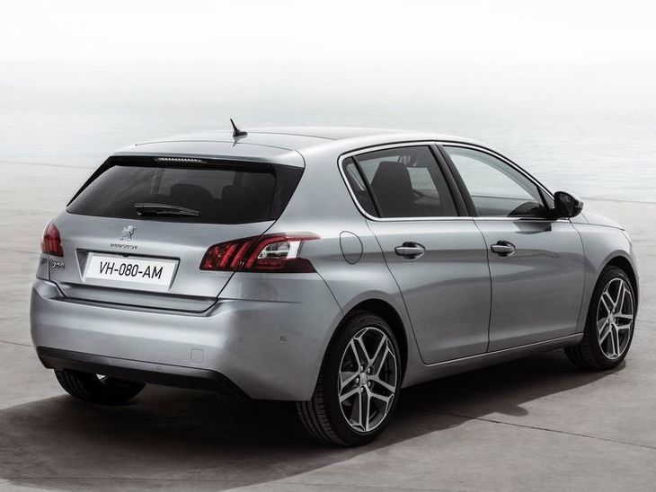 Peugeot 308 Exterior Silver Back 2