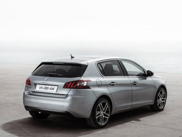 Peugeot 308 Exterior Silver Back