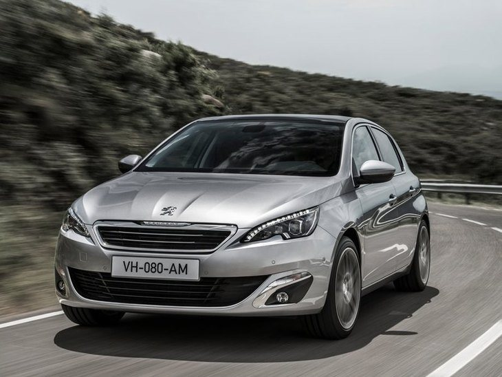 Peugeot 308 Exterior Silver Front