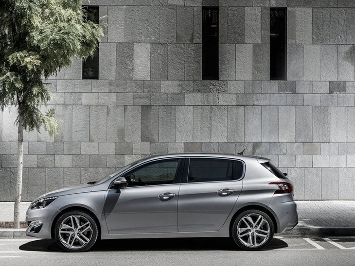 Peugeot 308 Exterior Silver Side