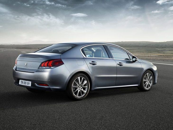 Peugeot 508 New Model Silver Exterior Back