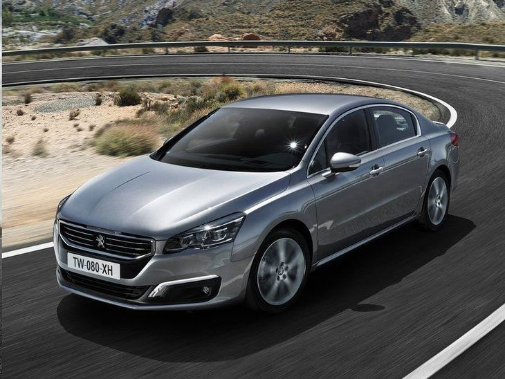 Peugeot 508 New Model Silver Exterior Front 2