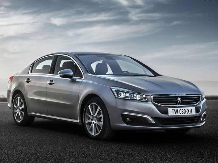 Peugeot 508 New Model Silver Exterior Front