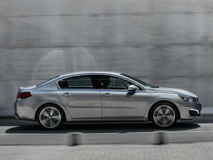 Peugeot 508 New Model Silver Exterior Side