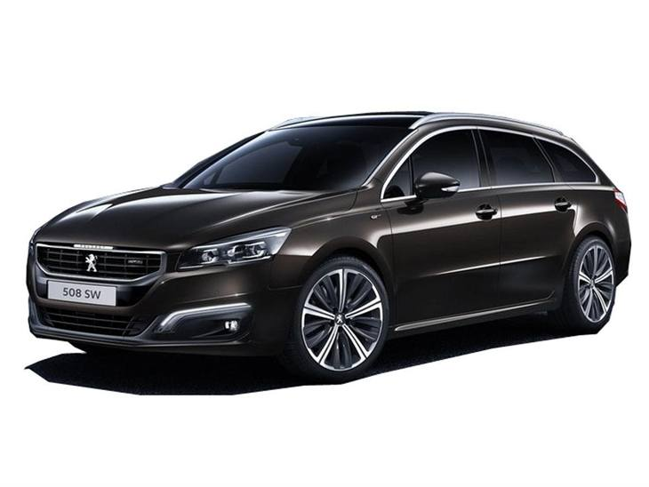 Peugeot 508 SW Brown Front