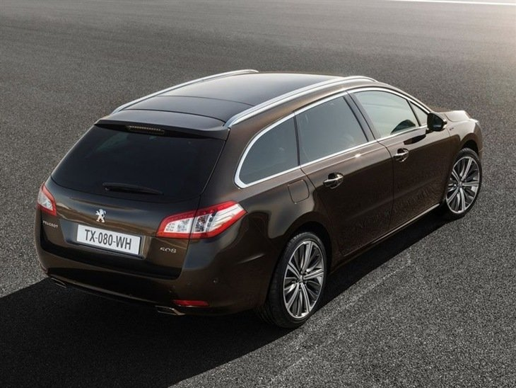 Peugeot 508 SW New Model Exterior Brown Back