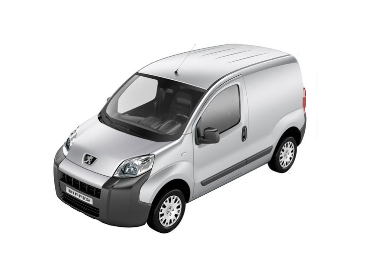 Peugeot Bipper Silver Front
