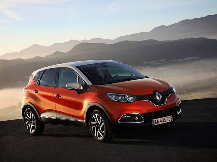 Renault Captur Orange Exterior Front