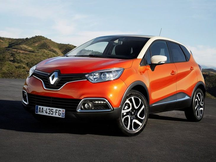 Renault Captur Orange Front 2