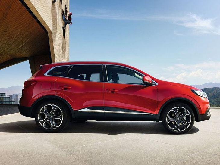 Renault Kadjar Red Exterior Side
