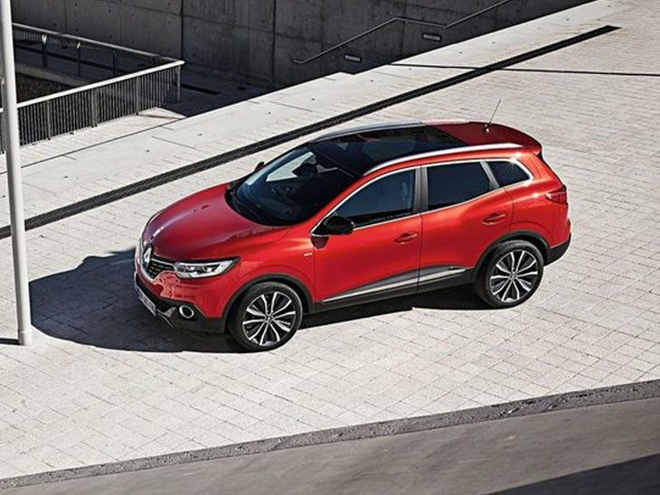 Renault Kadjar Red Exterior Top