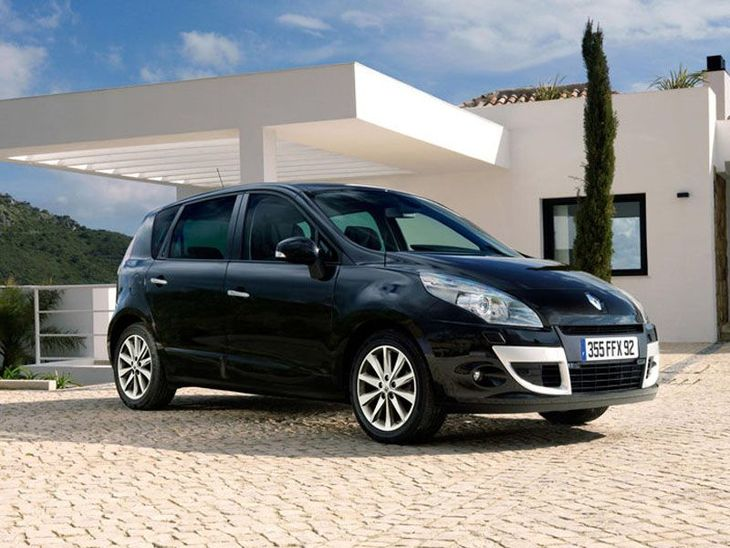 Renault Scenic Black Exterior Front