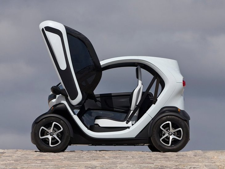 Renault Twizy Black Exterior Side
