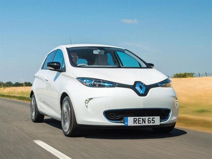 Renault Zoe White Exterior Front 2