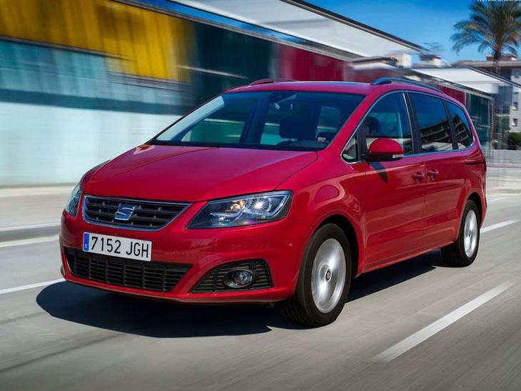 Seat Alhmbra Red Exterior Front 2