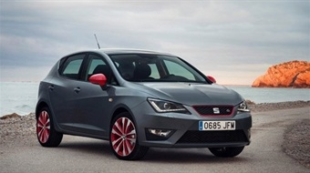 February Lease Deal on Seat Ibiza Hatchback 1.2 TSI FR Red Edition Technology