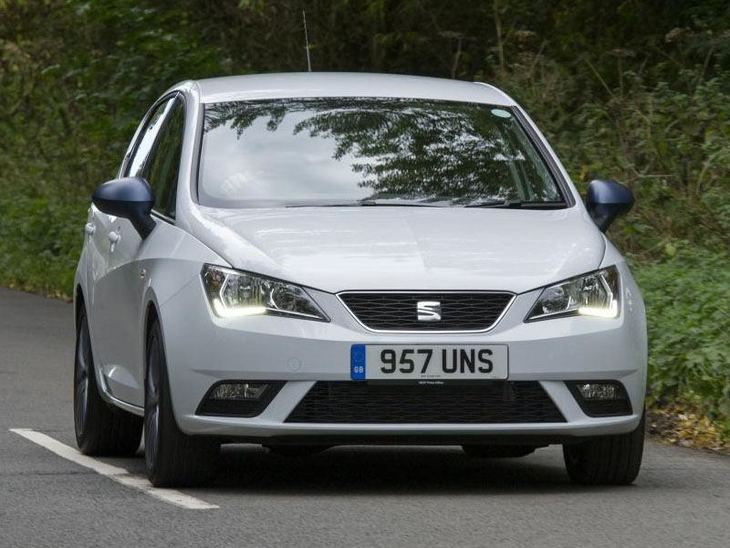 Seat Ibiza Hatchback Exterior Silver Front