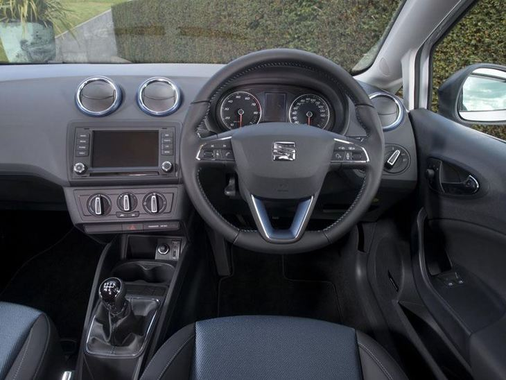 seat ibiza hatchback 1 2 tsi 90 fr technology car. Black Bedroom Furniture Sets. Home Design Ideas