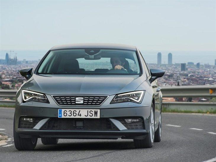 seat leon hatchback 2.0 tsi 290 cupra ez dsg | car leasing