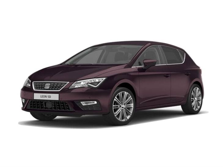 seat leon hatchback 1 5 tsi evo 150 xcellence lux ez car leasing nationwide vehicle contracts. Black Bedroom Furniture Sets. Home Design Ideas