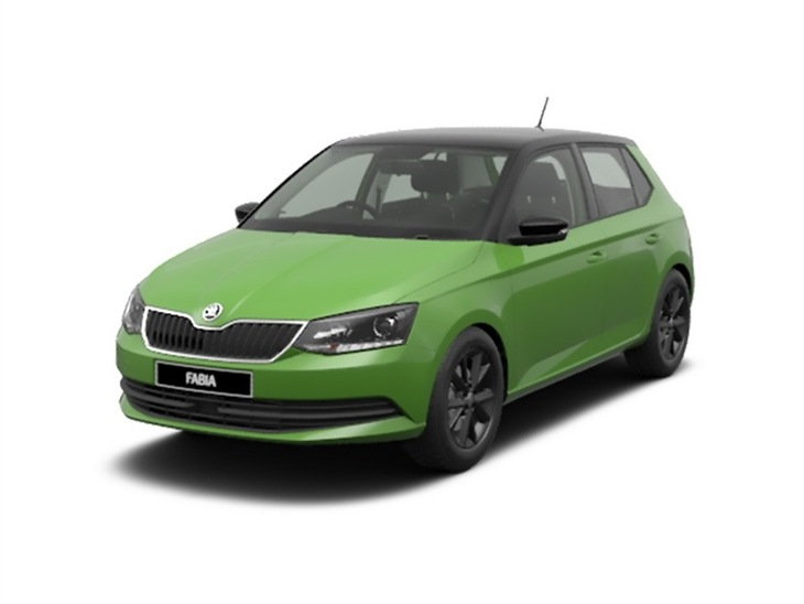skoda fabia 1 0 mpi 75 colour edition 5dr car leasing. Black Bedroom Furniture Sets. Home Design Ideas