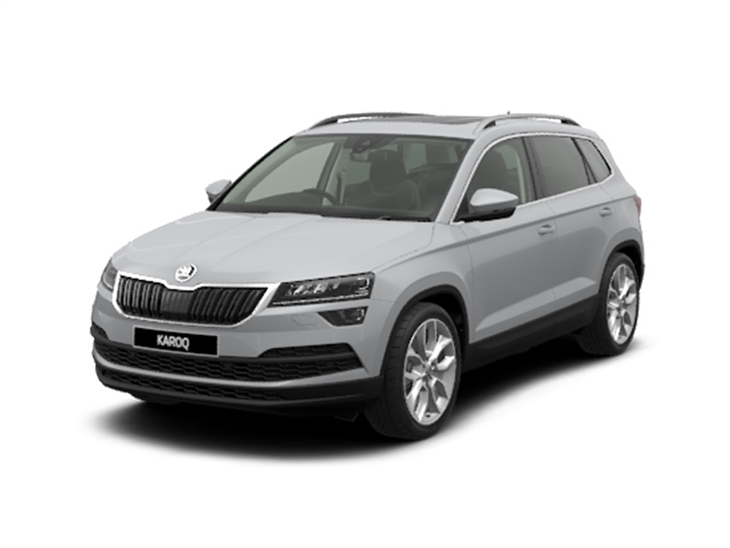 skoda karoq 1 5 tsi edition car leasing nationwide. Black Bedroom Furniture Sets. Home Design Ideas