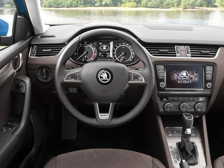 Skoda Octavia Estate Interior