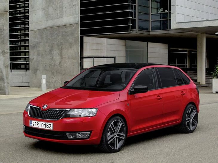 Skoda Rapid Spaceback Exterior Red Front