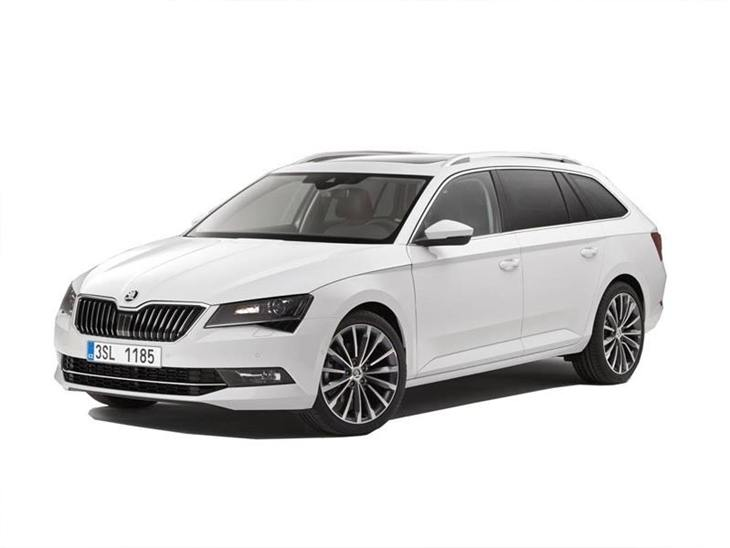 skoda superb estate 2 0 tdi cr se l executive car. Black Bedroom Furniture Sets. Home Design Ideas