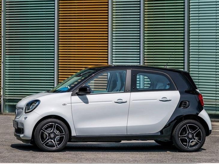 smart forfour hatchback 1 0 prime premium car leasing. Black Bedroom Furniture Sets. Home Design Ideas