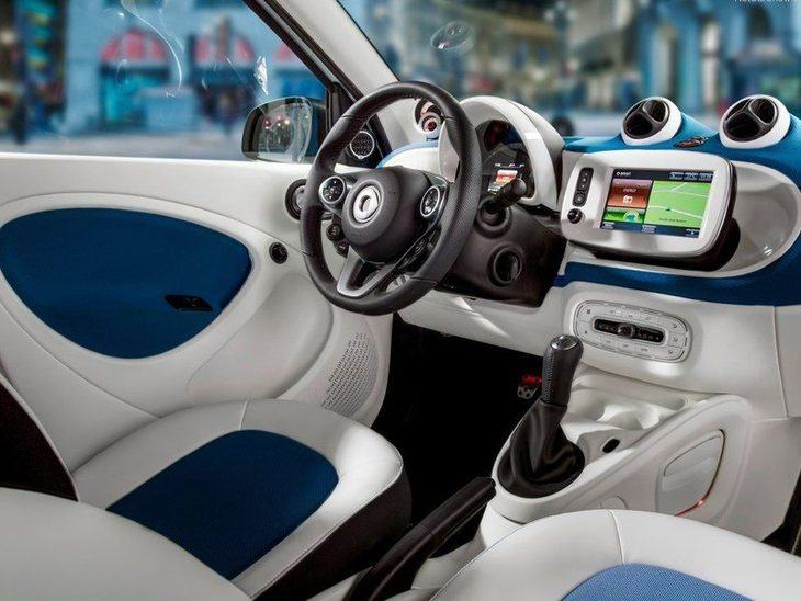 Smart Forfour Hatchback White Interior