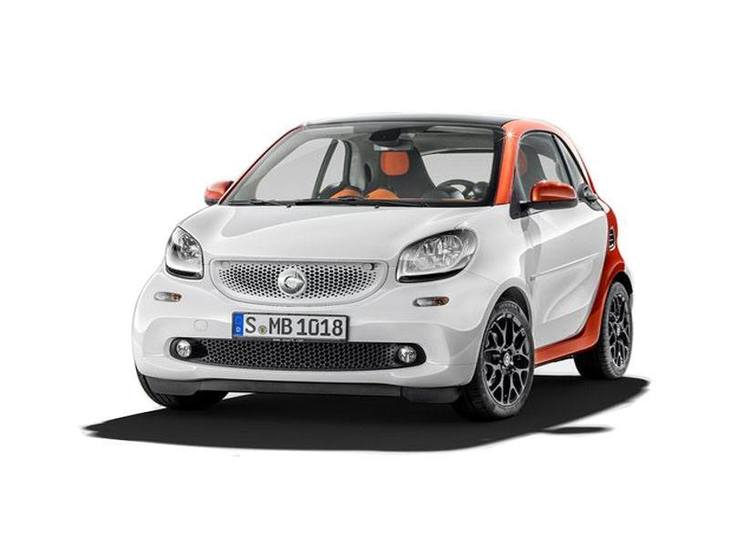 Smart ForFour Hatchback White Front