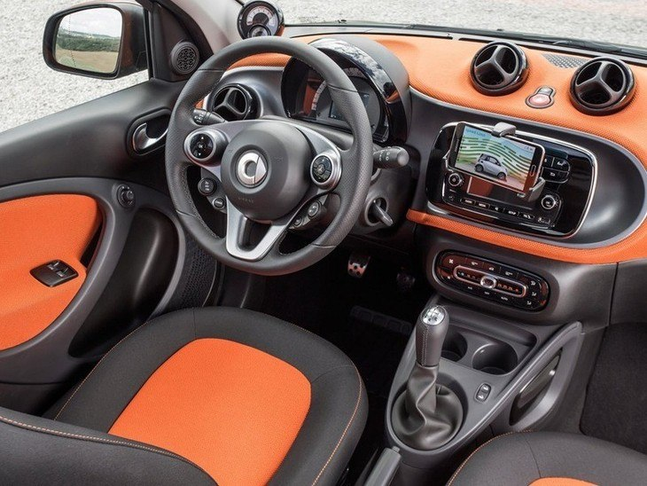 Smart Forfour Night Sky Hatchback Interior