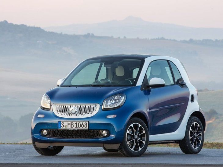 Smart Fortwo Coupe Exterior Front 2