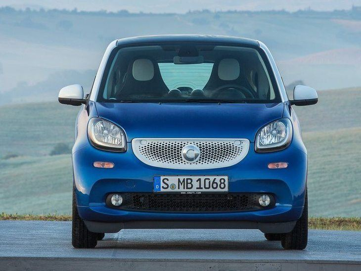 Smart Fortwo Coupe Exterior Front