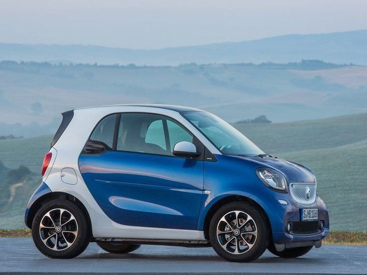 Smart Fortwo Coupe Exterior Side
