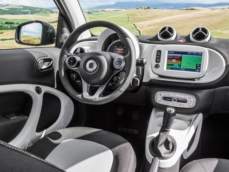 Smart Fortwo Coupe Interior
