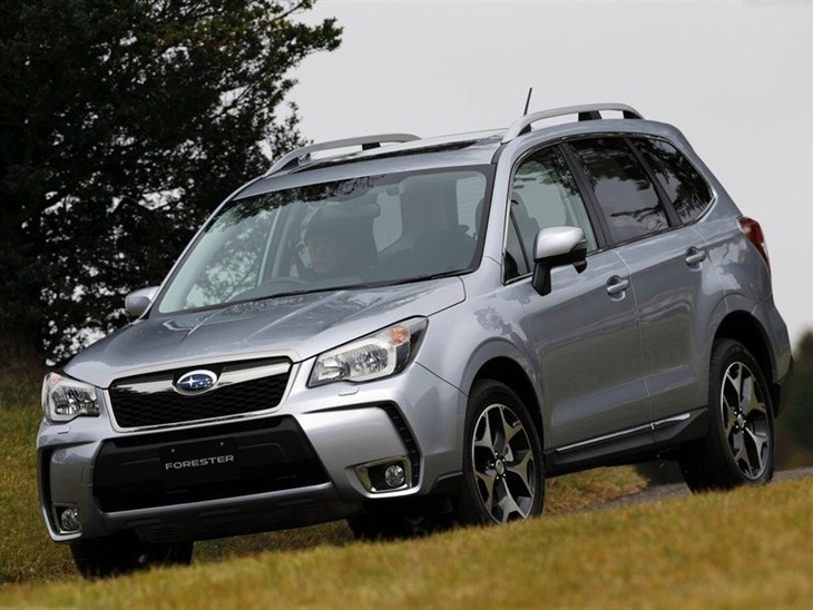 Subaru Forester Silver Exterior Front 2