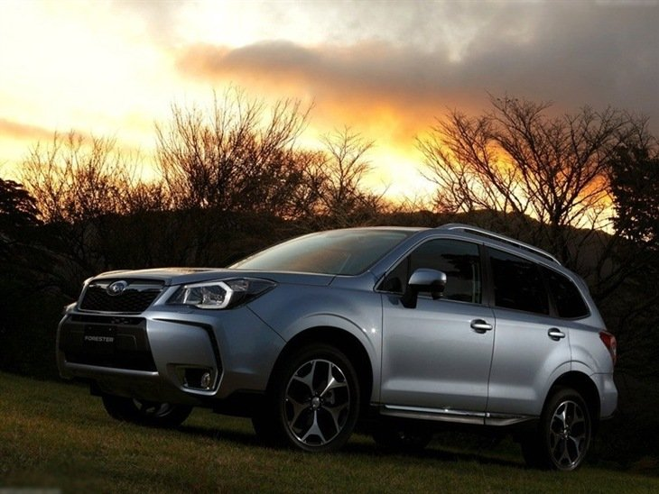 Subaru Forester Silver Exterior Front
