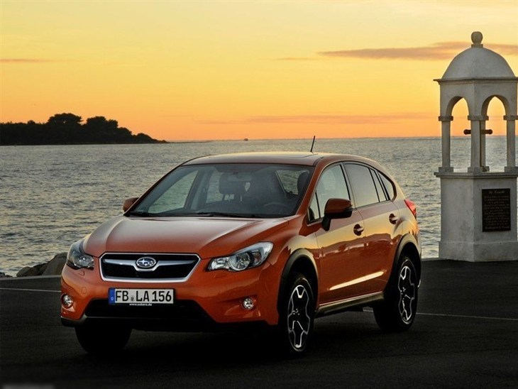 Subaru XV Orange Exterior Front