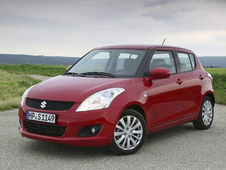 Suzuki Swift Red Exterior Front