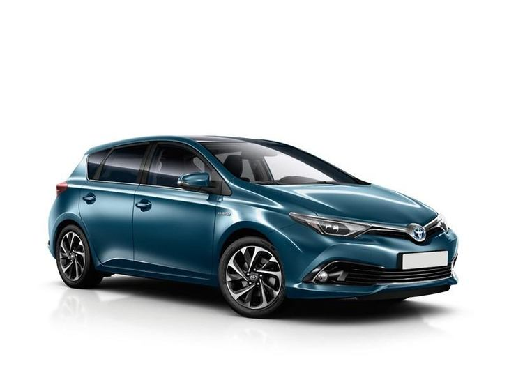 Toyota Auris New Model Blue Front