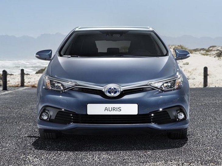 Toyota Auris Touring Sport New Model Blue Exterior Front