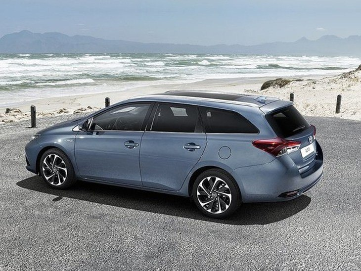 Toyota Auris Touring Sport New Model Blue Exterior Side