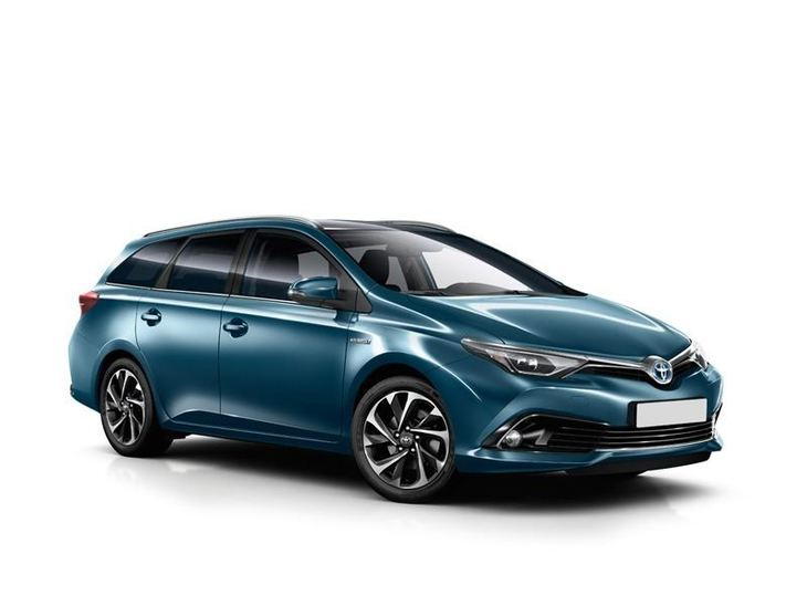 Toyota Auris Touring Sport New Model Blue Front