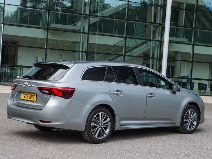 Toyota Avensis Touring Sport Silver Exterior Back