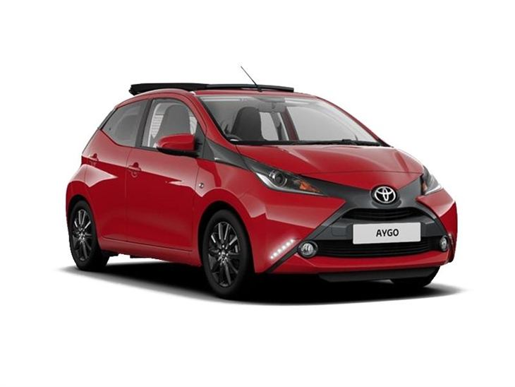 toyota aygo funroof 1 0 vvt i x style car leasing. Black Bedroom Furniture Sets. Home Design Ideas