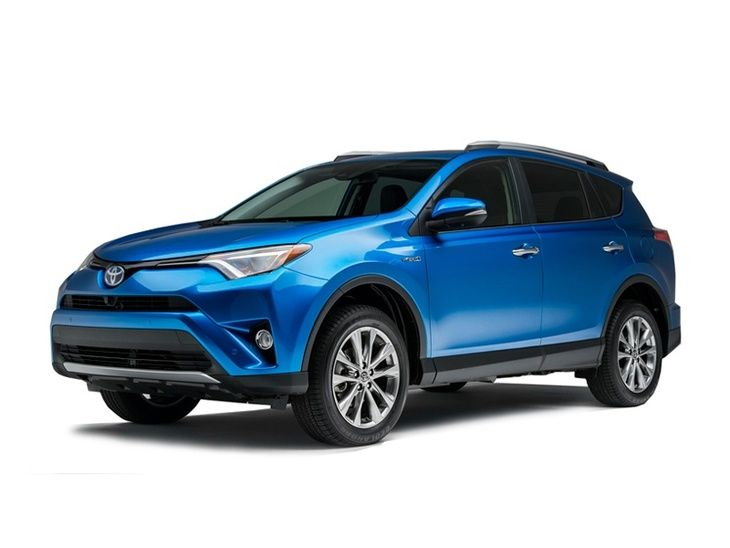 Toyota RAV4 New Model Blue Exterior Front