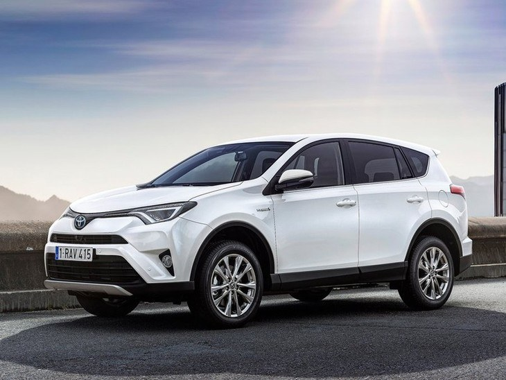 Toyota RAV4 New Model White Exterior Side