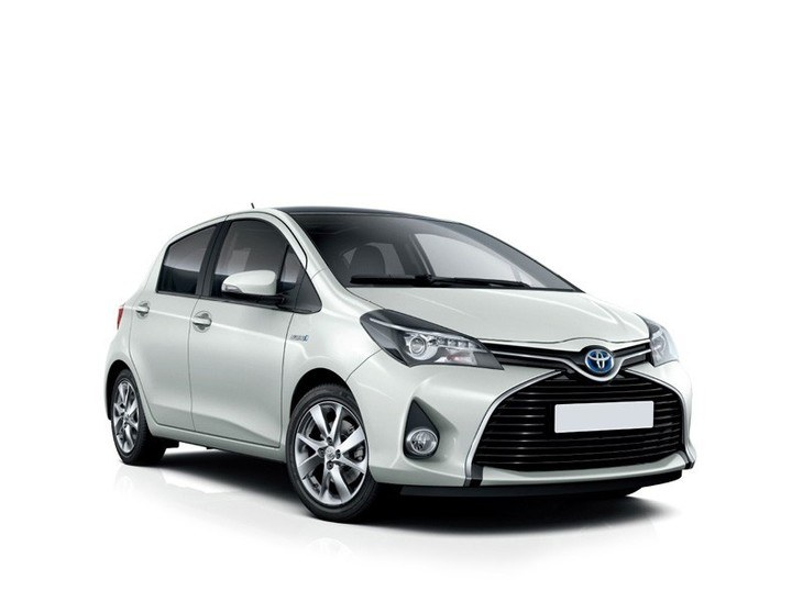 Toyota Yaris White Front
